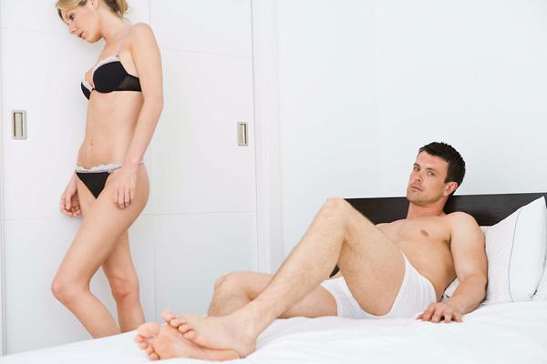 a gyengülés és az erekció hiányának okai