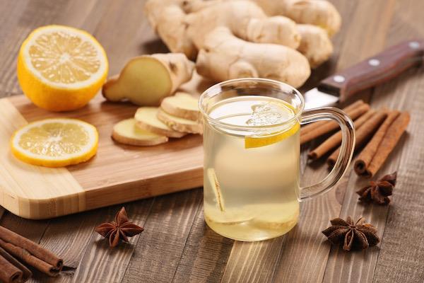 gyömbér tea felállítása